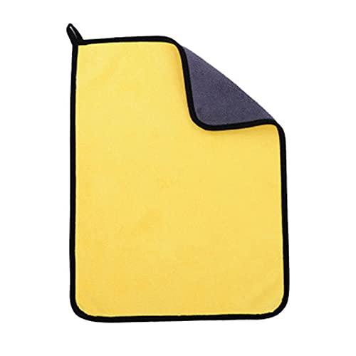 QWSNED Toallas, paño de limpieza de microfibra eficaz, paño de limpieza de coche de 30 x 60 cm, paño de lavado de coches extremadamente absorbente, cuidado de lavado de coches
