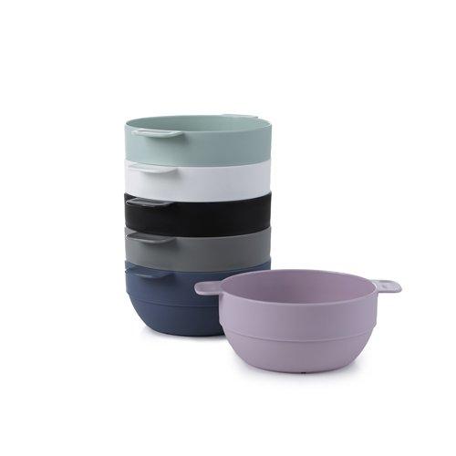 Amuse- Unbreakable & Stackable Bowls  - 6 pcs- 16.9 oz (Assorted Colors)
