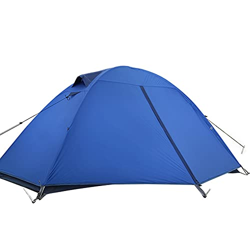 GHGD Pop Up Tent, 1Person Cabin Tent Weatherproof Family Tent for Camping...