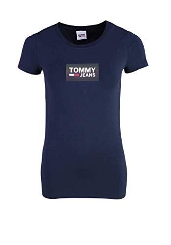 Tommy Hilfiger Damen T-Shirt Grandient Logo - M