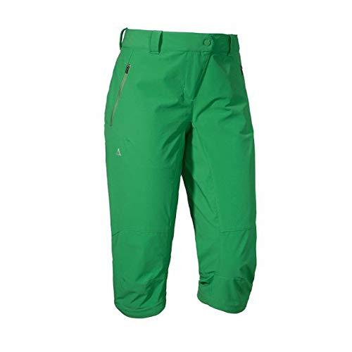 Schöffel Shorts Koblenz L Femme, Mint Green, FR : XL (Taille Fabricant : 46)