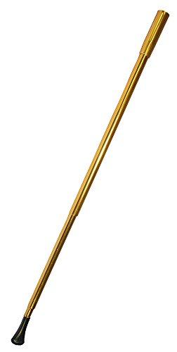 Zigarettenspitze zum Charleston Kostüm 21 cm - Gold - Tolles Zubehör zum 20er Jahre Kostüm - Karneval Mottoparty Theater