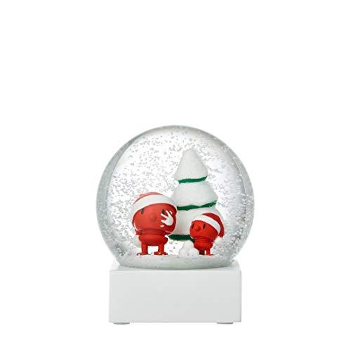 Hoptimist - Schneekugel Santa Snow - Ø10 cm