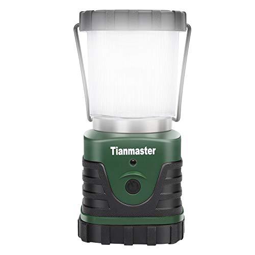 Beinhome LED Campinglampe, 500 Lumen LED Camping Lampe, wasserdichte batteriebetriebene tragbare Camping Lichter, led Laterne Outdoor für Notfälle, Camping, Wandern, Angeln, Stromausfälle und mehr