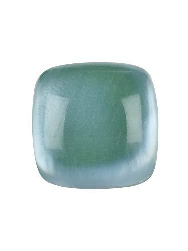 Breil Gioiello Collezione Stones, Elemento da Donna in Acciaio, Pietre Naturali Colore Verde Acqua Misura Big con con Pietre - TJ2024