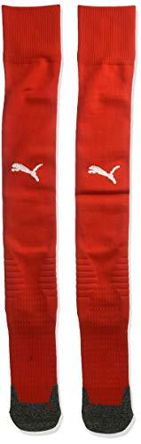 PUMA Men's Team LIGA Socks, Redpuma White, 10-12