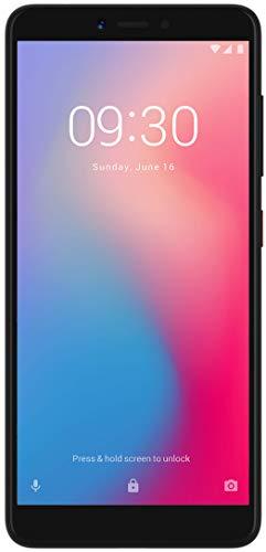 ZTE Smartphone Blade A7 Vita (13,84 cm (5,45 Zoll) HD+ Bildschirm, 32 GB interner Speicher (erweiterbar),Fingerabdrucksensor, Dual-SIM & LTE, Android 8) Schwarz