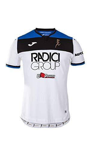 Atalanta B.C., Zweites Race Shirt 2019/2020, Mann, weiß, 6XS