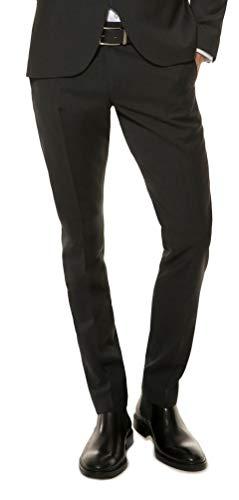 Michaelax-Fashion-Trade Slim Fit - Herren Hose in Schwarz oder Dunkelblau, Elio (1420 00, Modell: 133001), Größe:102, Farbe:Schwarz(99)