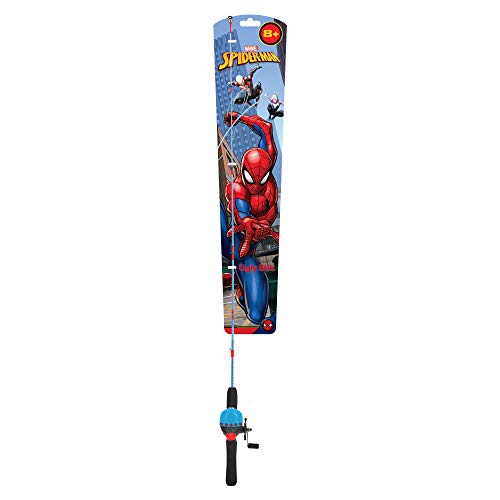 Ugly Stik Marvel Spiderman Children's Spincast Reel and Fishing Rod Combo