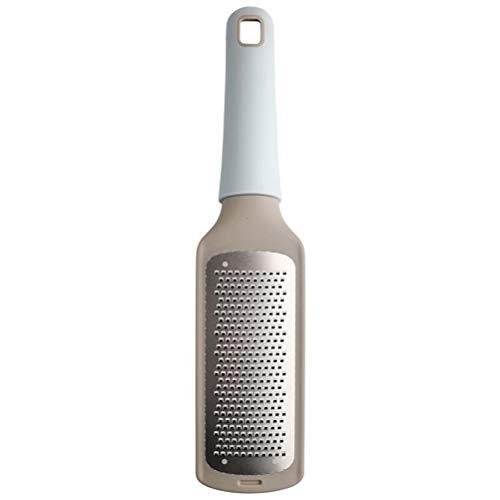 GAOJIAN Rallador de Queso Rayador de Cocina de Acero Inoxidable 304, manija de plastico ralladores manuales,para Chocolate, Queso, Color Aleatorio