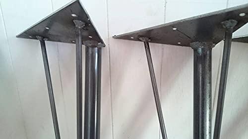 アイアンレッグ DIY素材テーブル鉄脚 4本セット鉄足 (L)