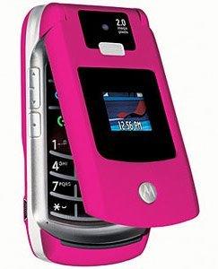 Motorola RAZR V3x Pink - Original, ohne Branding, ohne SIM-Lock