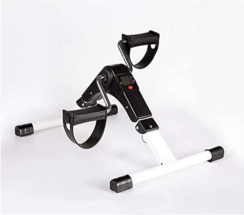 Mini Pedal Portátil Pedal Folding Static Home Rehabilitación Máquina de Entrenamiento 912 (Tamaño: Amarillo)-Blanco