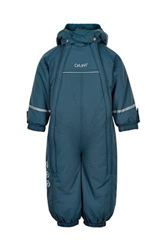 CeLaVi Jungen Snowsuit with 2 Zippers Schneeanzug, Ice Blue, 98