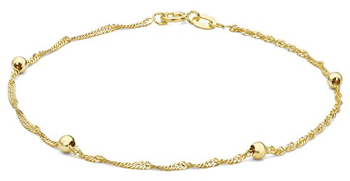 Carissima Gold Rolokette Armband 9k (375) Gelbgold 18cm/7zoll