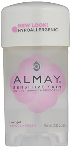 Almay Clear Gel, Anti-Perspirant & Deodorant, Powder Fresh, 2.25-Ounce...