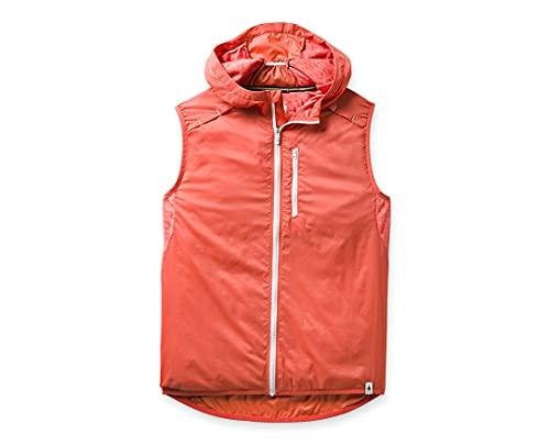 Smartwool Women's Sport Ultra Light Vest Regular Fit Nylon Sunset Coral, Medium