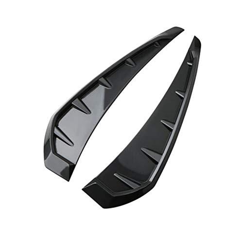 iSpchen Adesivo Aspirazione Aria Cofano Prese D'aria Adesivo Decorativo Auto Side Fender Vent Adesivo Universale Auto Condizionatore D'aria Presa D'aria Decorazione Strisce Accessori Auto