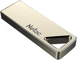فلاش USB ذاكرة 64 جيجا من خليط معدني من الزنك والنيكل اللؤلؤي من نيتاك - U326