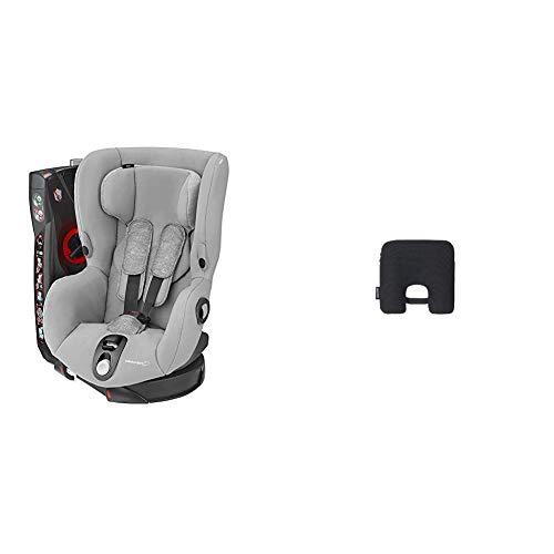 Bébé Confort Seggiolino Auto con dispositivo antiabbandono Axiss, Nomad Grey, Seggiolino Auto 9-18 Kg Girevole e Reclinabile + Anti abbandono E-Safety