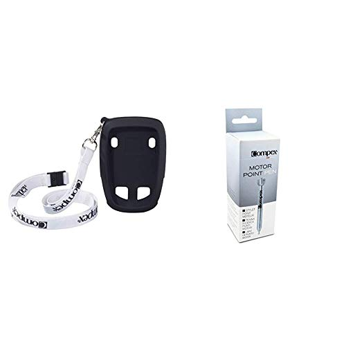 Compex Funda Protectora Lanyard Wireless, Negro, Talla Stand