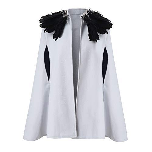 KUHHONG Cappotto Donna Invernale Elegante Caldo Taglie Forti Giacca con Collo di Pelliccia Autunnale Cappotto Giubbotto Outwear Donna Invernale Autunno Elegante Lungo Giacca Felpa Outwear