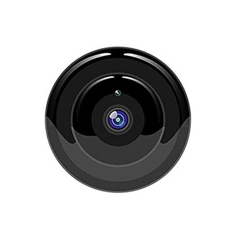 SXTYRL Mini Camara, Inalámbrico, Cámaras Espía, Portátil, Microcamara, Hogar Oficina Dormitorio, con Cargador, Infrarrojo (Color : Black, Size : 128G)