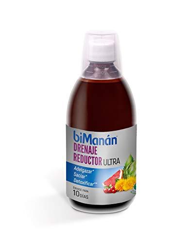biManán - Complementos - Adelgazar, Saciar, Detoxificar - Drenaje reductor - 500ml