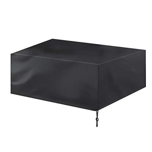 ROSEBEAR Fundas para muebles de patio, fundas para sofá de mesa, impermeables, nieve, polvo y viento