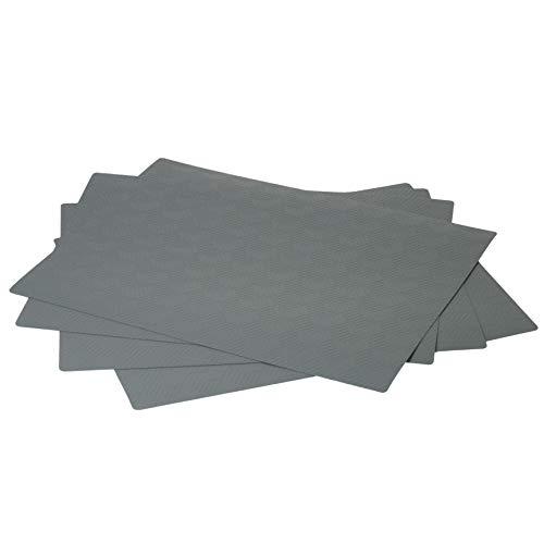 IKEA SLIRA - Mantel individual (36 x 29 cm, 4 unidades), color gris