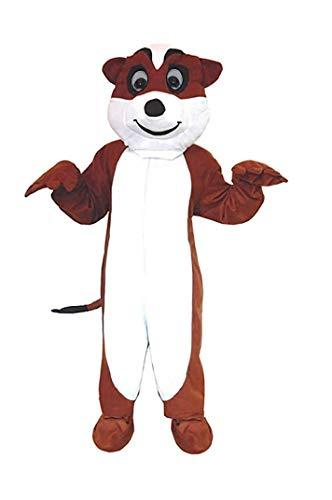 Erdmännchen Kostüm Einheitsgrösse L- XL Karneval Fasching Fastnacht Hamster