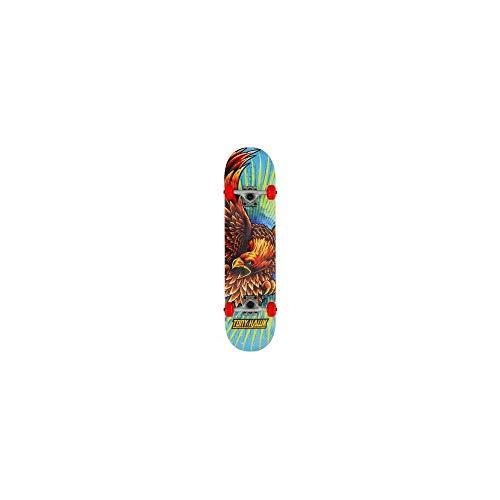 Tony Hawk Golden Hawk Longboard, Erwachsene, Unisex, Mehrfarbig, 19,5 cm