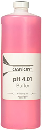 Oakton 1189N29EA WD-05942-22 Oakton Calibration Buffer, 4.01 Standard, 1 L Capacity