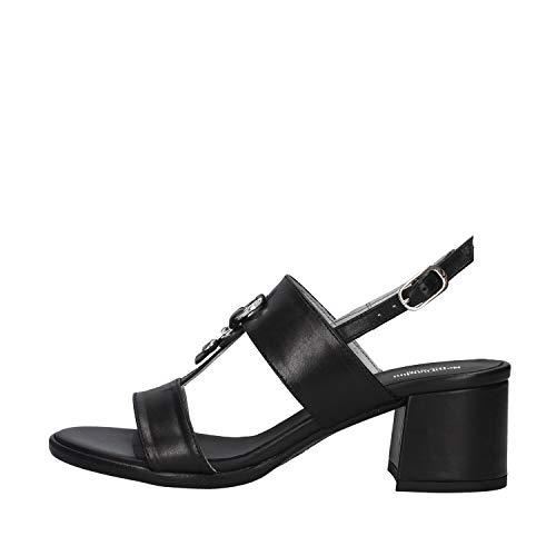 Sandalo da Donna NeroGiardini in Pelle Black E012264D. Scarpa dal Design Raffinato. Collezione Primavera Estate 2020. EU 37
