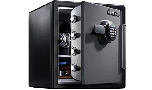 SentrySafe Fire-Resistant and Waterproof Safe with Digital Keypad Now $109.99 (Was $189)