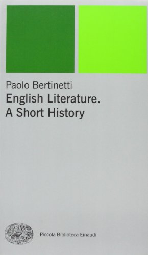 English literature. A short history [Lingua inglese]