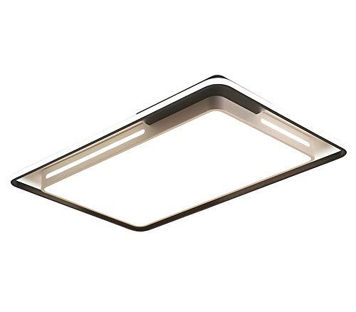 Salón Plafon LED Regulable Grande Rectángulo Luce De Techo Con Control Remoto...