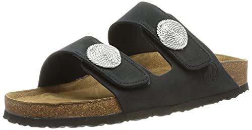 Rieker Damen V9379 Sandale, Blau, 37 EU