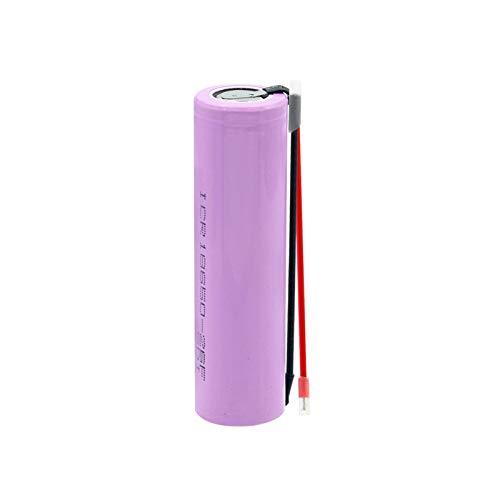 yfkjh 3.7 V 18650 20a Descarga 2600mah Icr 26f Li Ion BateríA De Litio, BateríA Recargable Mejor + 2 Cables De Bricolaje 1piece