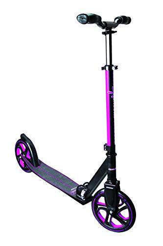 Muuwmi Aluminium Scooter PRO 215 mm, Girls, Nero/Rosa, One Size