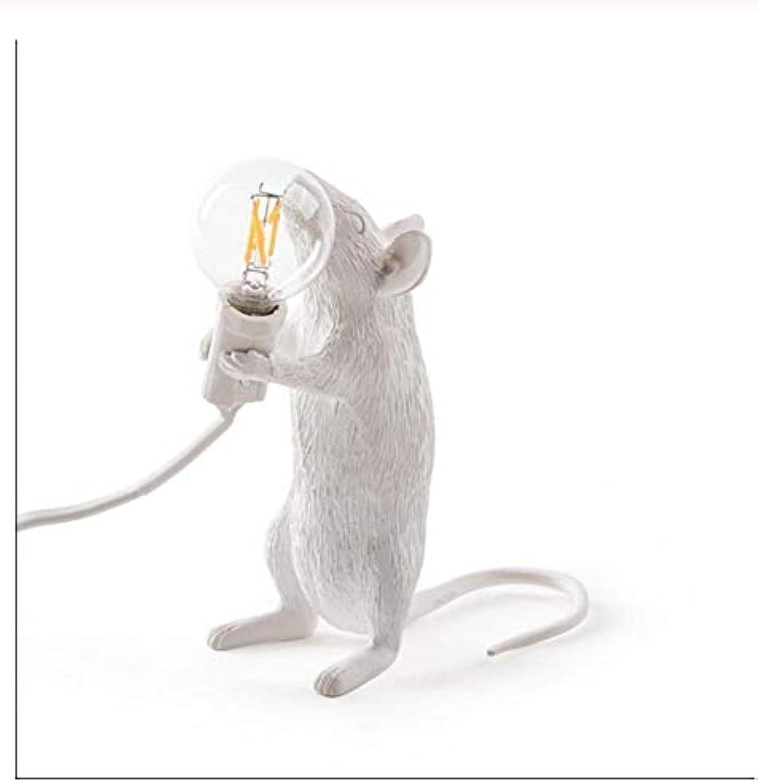 Modern Resin Mouse Table Lamp Led Rat Table Lamp Desk Kids' Gift Room Decor C