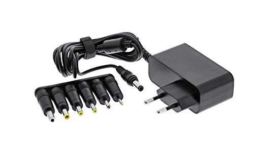 InLine 26608M Universal Steckernetzteil, 12V / 24W mit 6 Wechselstecker