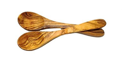 Le Souk Olivique 7' Spoon (Set of 2), Small, Natural
