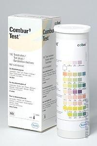 100 Combur 9 Teststreifen OVP NEU m. Rechnung