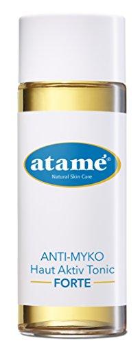 Atame ANTI-MYKO Haut Aktiv Tonic FORTE, Toner zur Reinigung, Hautpflege auch bei Akne, Gesichtswasser, Gesichtsreinigung, natürliche Inhaltsstoffe (250ml)