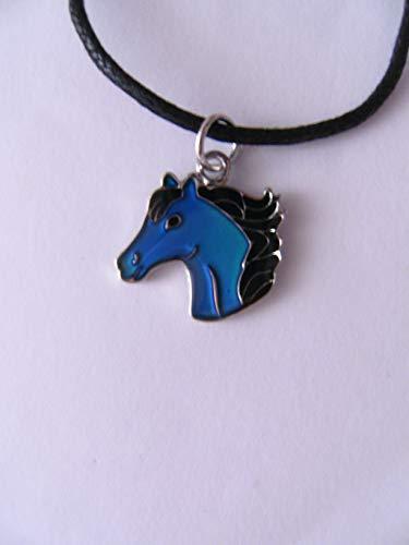 Cornelißen Stimmungskette Pferdekopf, Kette Anhänger Modeschmuck Ketten Geschenke Schmuck, Pferd Pony