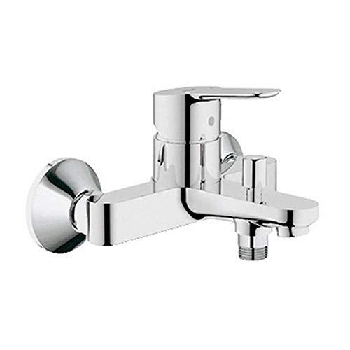 Grohe Einhebelmischer für Duschkabine ohne Zubehör BauEDGE verchromt