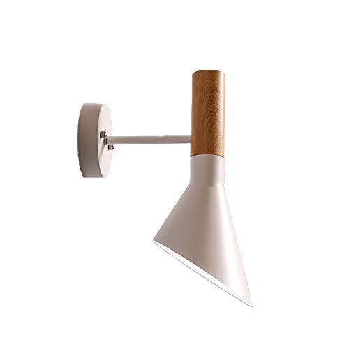 Apliques Pared Lámpara industrial de viento de aluminio forjado de hierro pared del dormitorio de Europa y América moderna minimalista Lámpara de pared Lámpara de cabecera pasillo de pared LED, Nombre