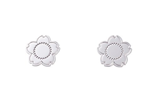 Kenzo Damen-Ohrringe Flora Sterlingsilber 2 cm 7014351 11 00 000